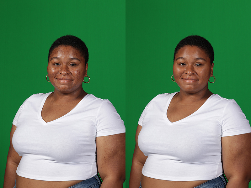 Portrait Skin Retouching Service